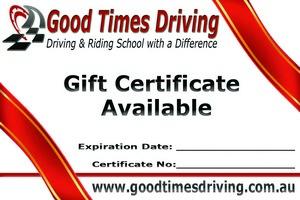 Gift Certificatet